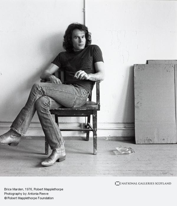 Robert Mapplethorpe, Brice Marden (1976)