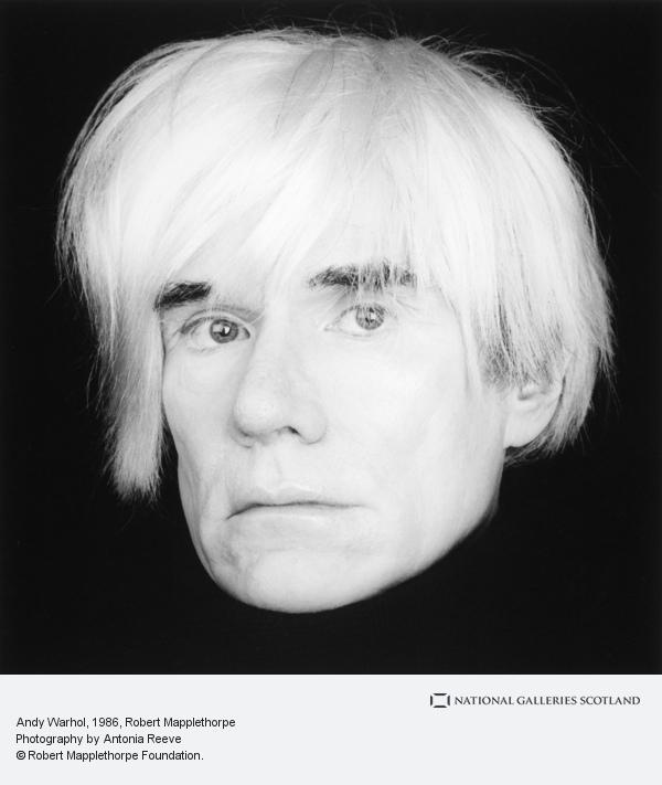 Robert Mapplethorpe, Andy Warhol (1986)