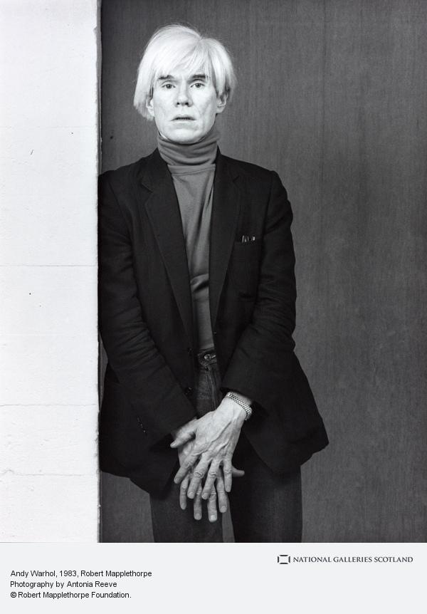 Robert Mapplethorpe, Andy Warhol (1983)