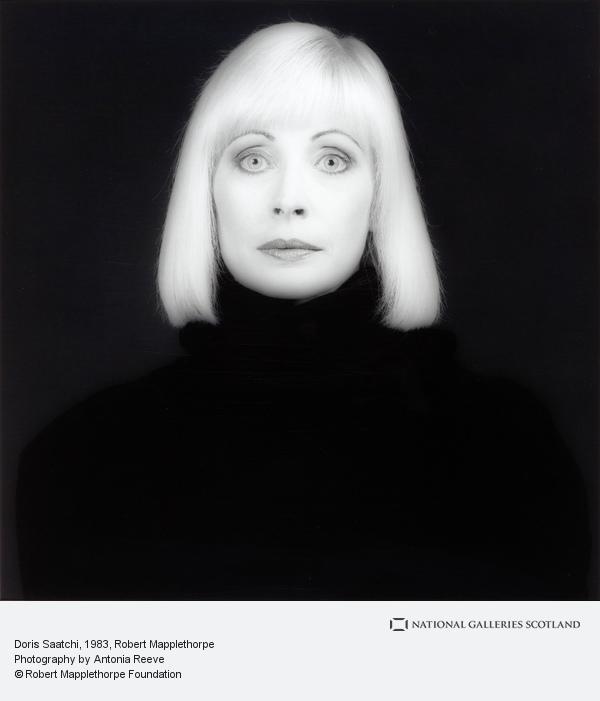 Robert Mapplethorpe, Doris Saatchi (1983)