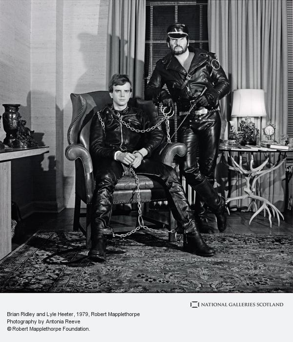 Robert Mapplethorpe, Brian Ridley and Lyle Heeter (1979)