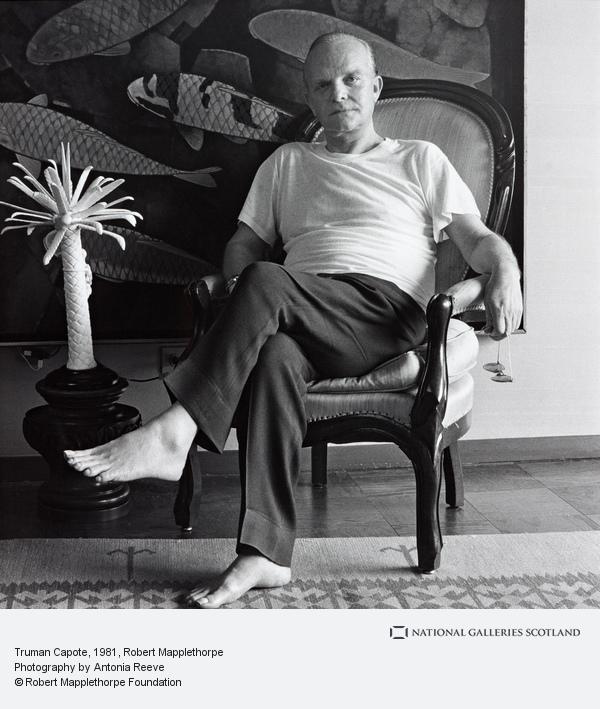 Robert Mapplethorpe, Truman Capote