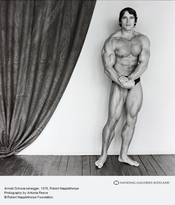 Robert Mapplethorpe, Arnold Schwarzenegger (1976)