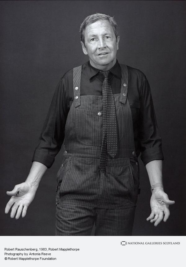 Robert Mapplethorpe, Robert Rauschenberg (1983)
