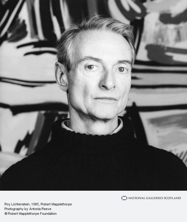 Robert Mapplethorpe, Roy Lichtenstein (1985)