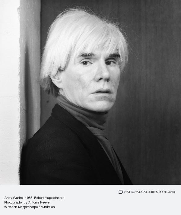 Robert Mapplethorpe, Andy Warhol (1983)