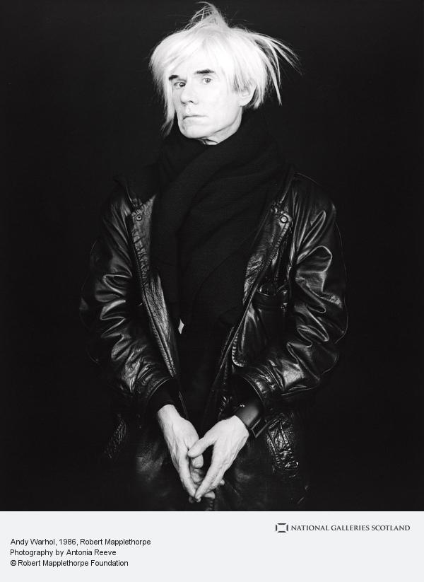 Robert Mapplethorpe, Andy Warhol (1986)