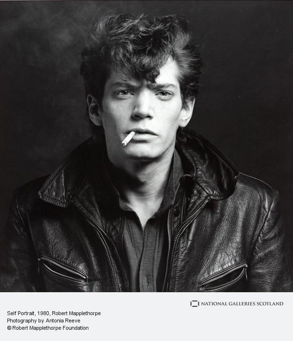 Robert Mapplethorpe, Self Portrait (1980)