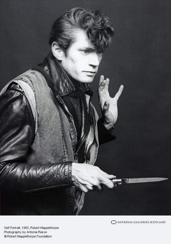 Robert Mapplethorpe, Self Portrait (1983)
