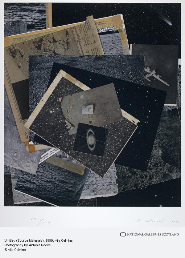 Vija Celmins, Untitled (Source Materials) (1999)