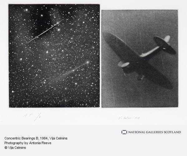 Vija Celmins, Concentric Bearings B (1984)