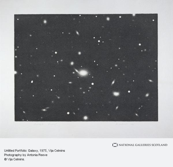 Vija Celmins, Untitled Portfolio: Galaxy (1975)