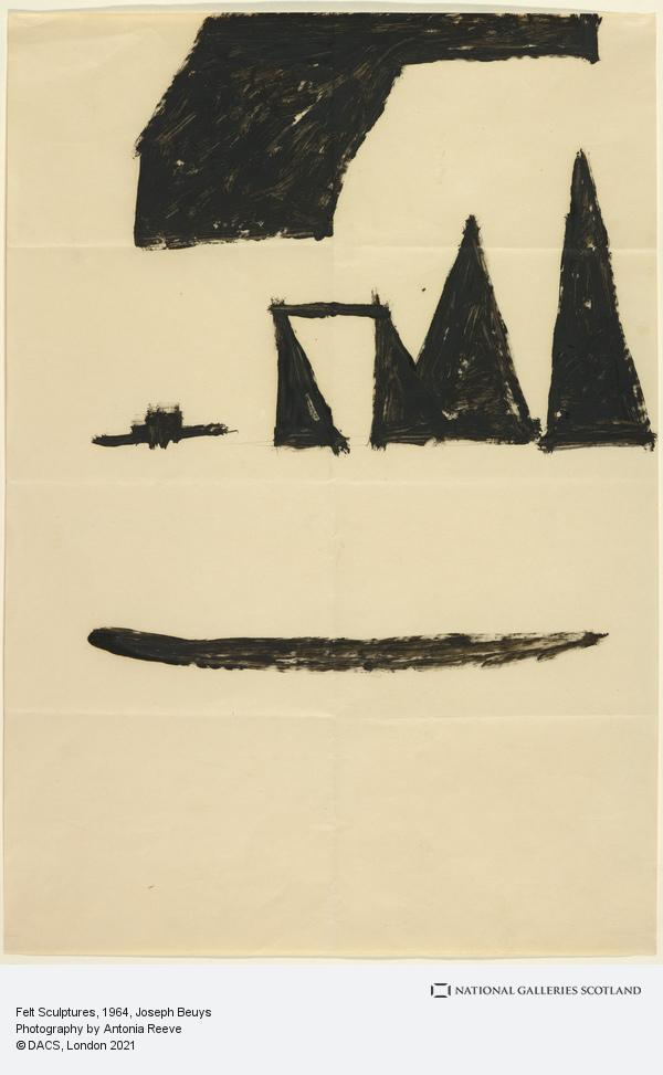 Joseph Beuys, Felt Sculptures (1964)