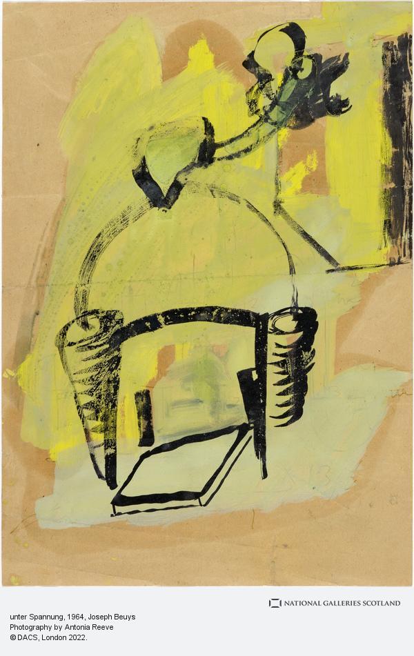 Joseph Beuys, unter Spannung [under Tension] (1964)