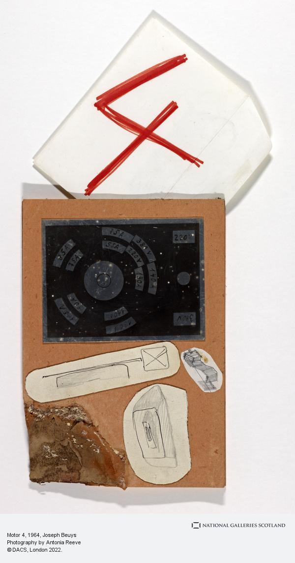 Joseph Beuys, Motor 4 (1964-1980)
