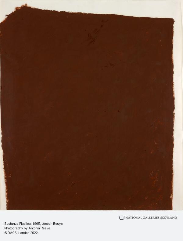 Joseph Beuys, Sostanza Plastica (1965)