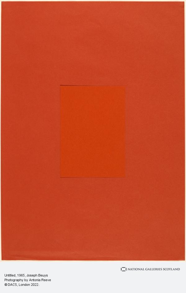 Joseph Beuys, Untitled (1965)