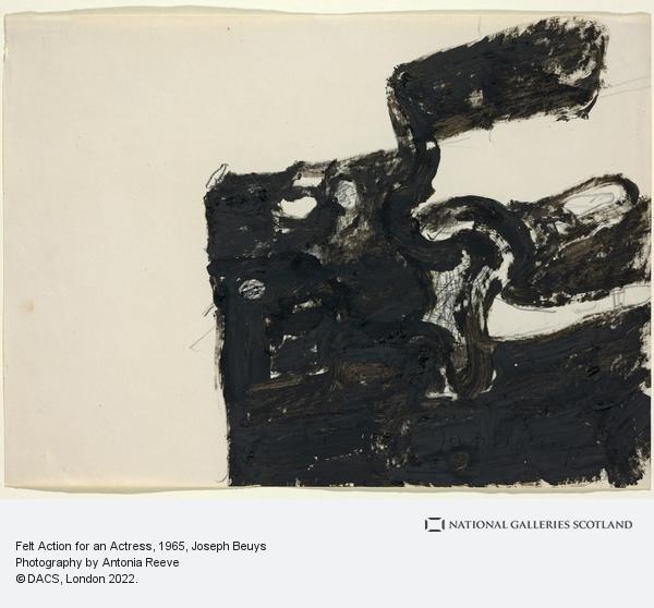 Joseph Beuys, Felt Action for an Actress (1965)