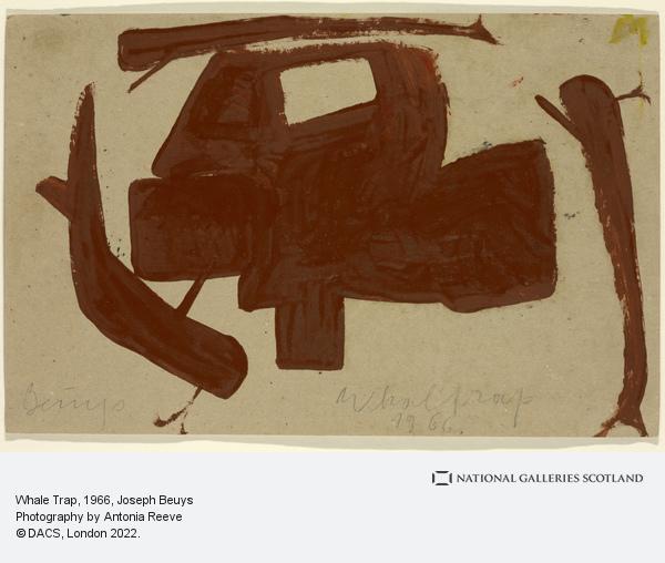 Joseph Beuys, Whale Trap (1966)