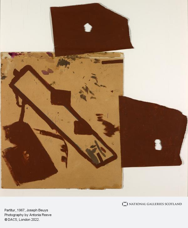 Joseph Beuys, Partitur