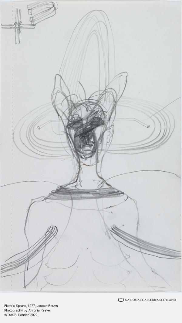 Joseph Beuys, Electric Sphinx (1977)