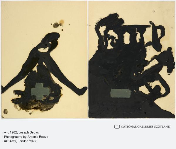 Joseph Beuys, + - (1962)