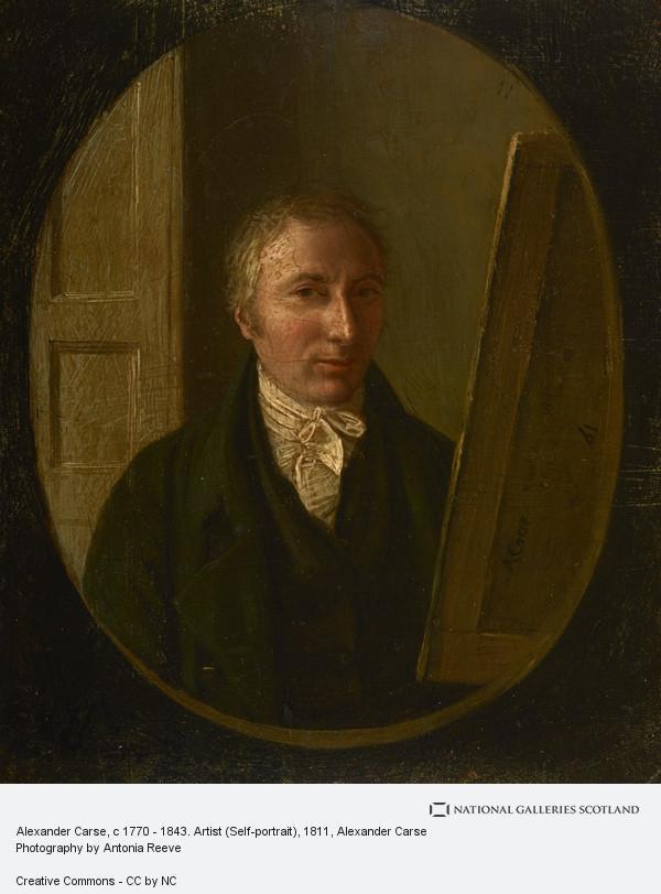 Alexander Carse, Alexander Carse, c 1770 - 1843. Artist (Self-portrait)