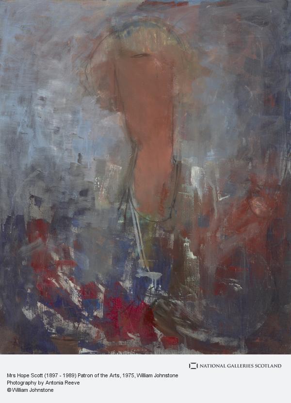 William Johnstone, Mrs Hope Scott (1897 - 1989) Patron of the Arts