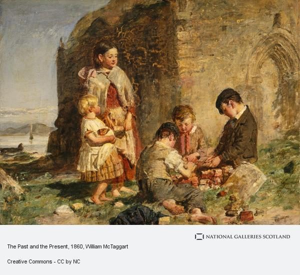 William McTaggart, The Past and the Present (Painted in or before 1860)