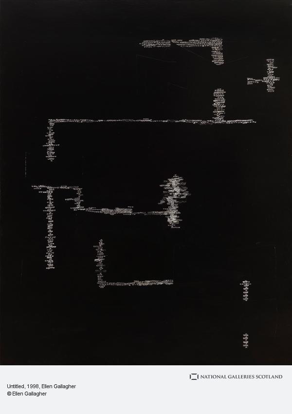 Ellen Gallagher, Untitled (1998)