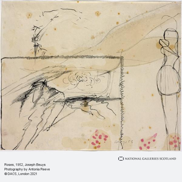 Joseph Beuys, Roses (1952)