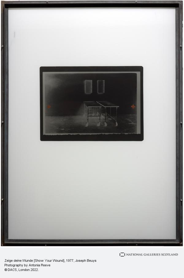 Joseph Beuys, Zeige deine Wunde [Show Your Wound] (1977-1984)