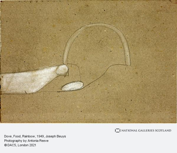 Joseph Beuys, Dove, Food, Rainbow (1949)