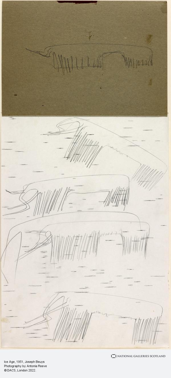 Joseph Beuys, Ice Age (1951)