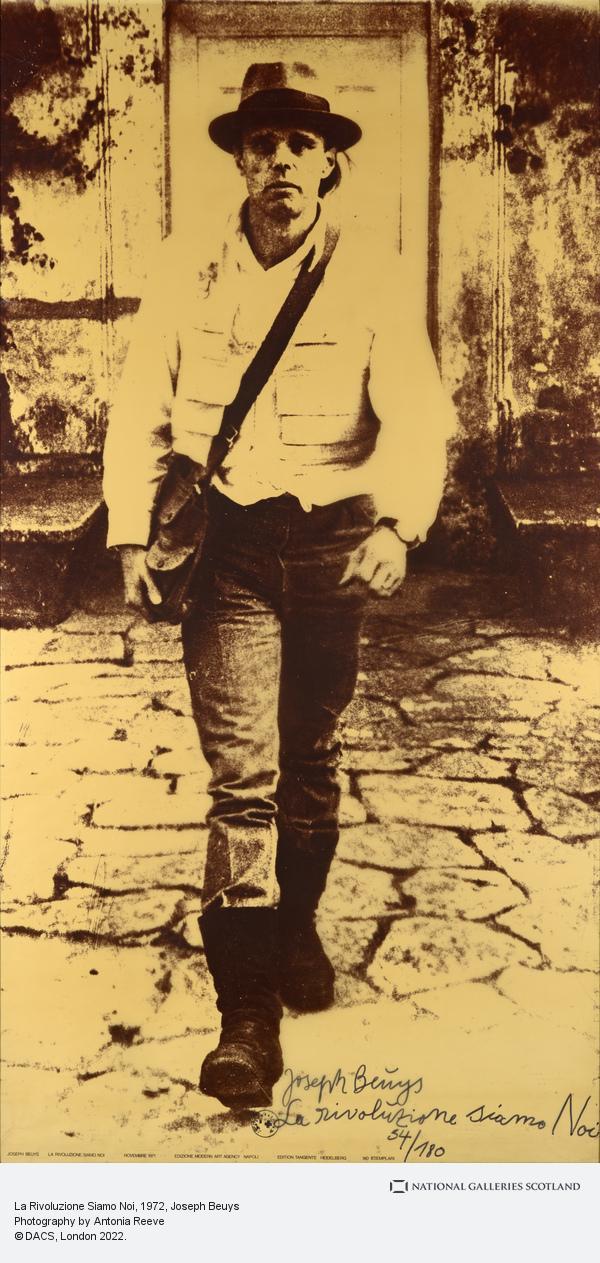 Joseph Beuys, La Rivoluzione Siamo Noi (1972)