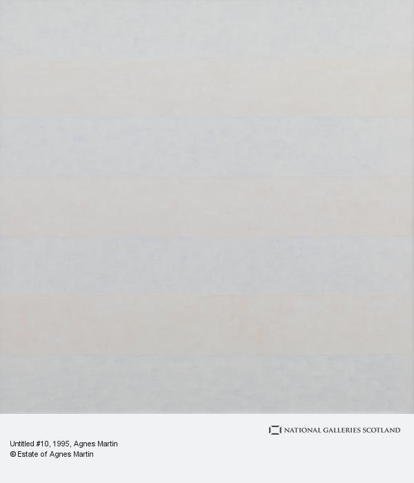 Agnes Martin, Untitled #10 (1995)