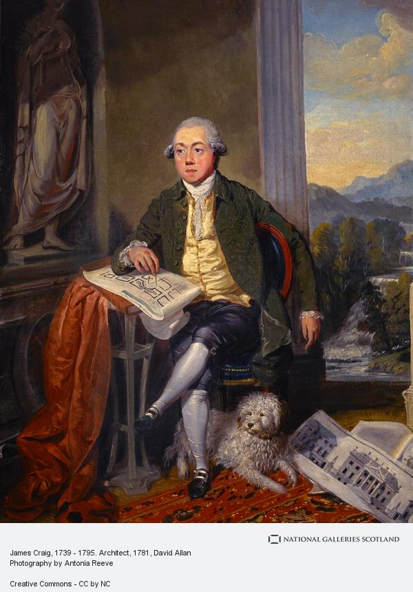David Allan, James Craig, 1739 - 1795. Architect