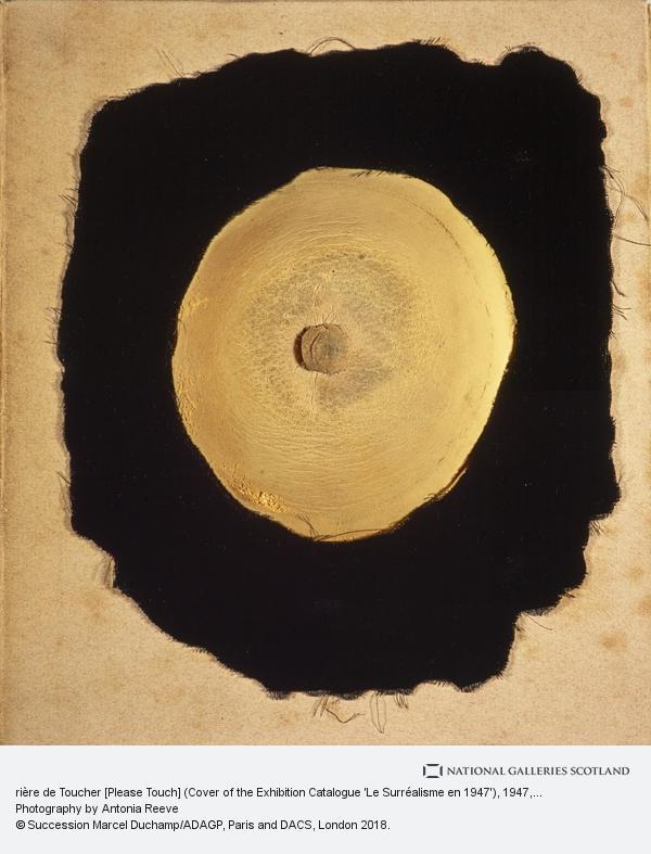 Marcel Duchamp, rière de Toucher [Please Touch] (Cover of the Exhibition Catalogue 'Le Surréalisme en 1947')