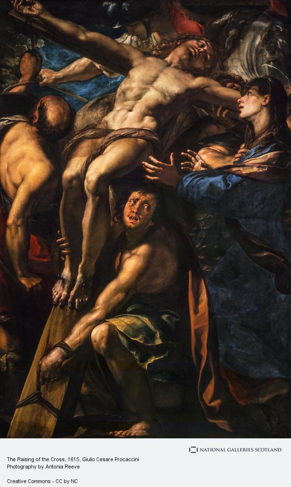 Giulio Cesare Procaccini, The Raising of the Cross