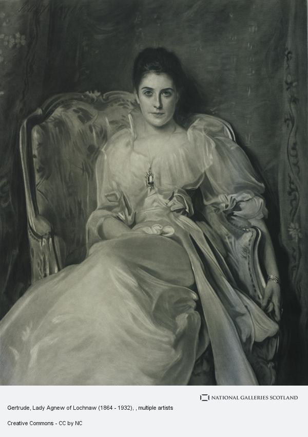 John Singer Sargent, Gertrude, Lady Agnew of Lochnaw (1865 - 1932)