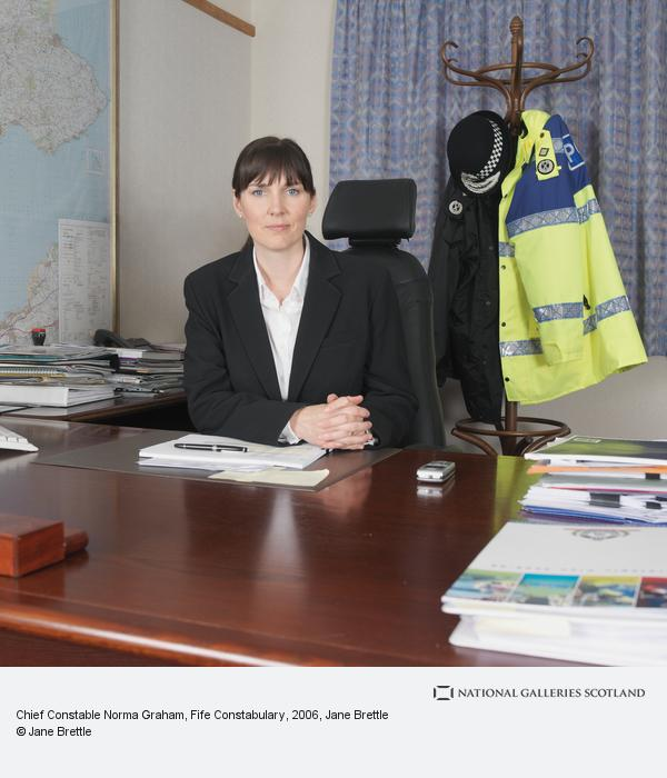 Jane Brettle, Chief Constable Norma Graham, Fife Constabulary (2006)