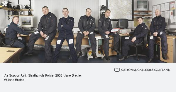 Jane Brettle, Air Support Unit, Strathclyde Police