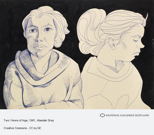 Alasdair Gray, Two Views of Inge