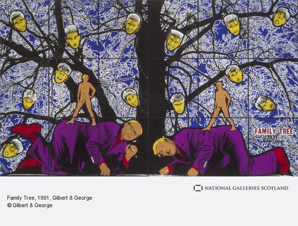 Gilbert & George, FAMILY TREE (1991)
