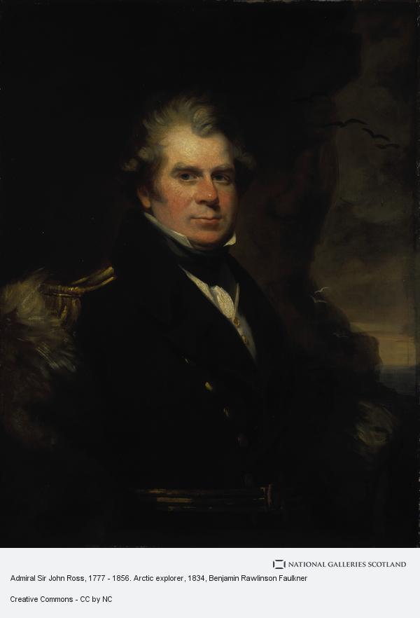 Benjamin Rawlinson Faulkner, Admiral Sir John Ross, 1777 - 1856. Arctic explorer