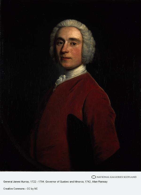 Allan Ramsay, General James Murray, 1722 - 1794. Governor of Quebec and Minorca