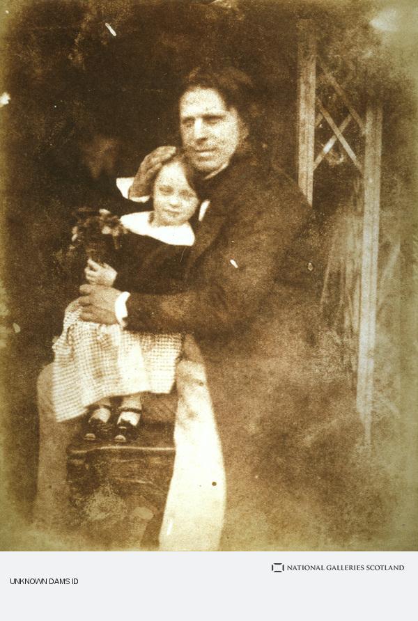 David Octavius Hill, David Octavius Hill with his daughter, Charlotte (Probably 1843)