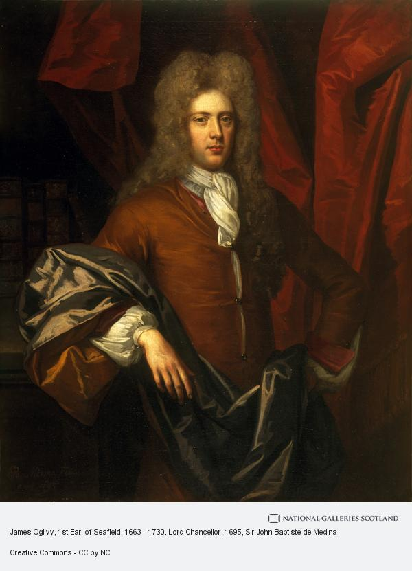 Sir John Baptiste de Medina, James Ogilvy, 1st Earl of Seafield, 1663 - 1730. Lord Chancellor