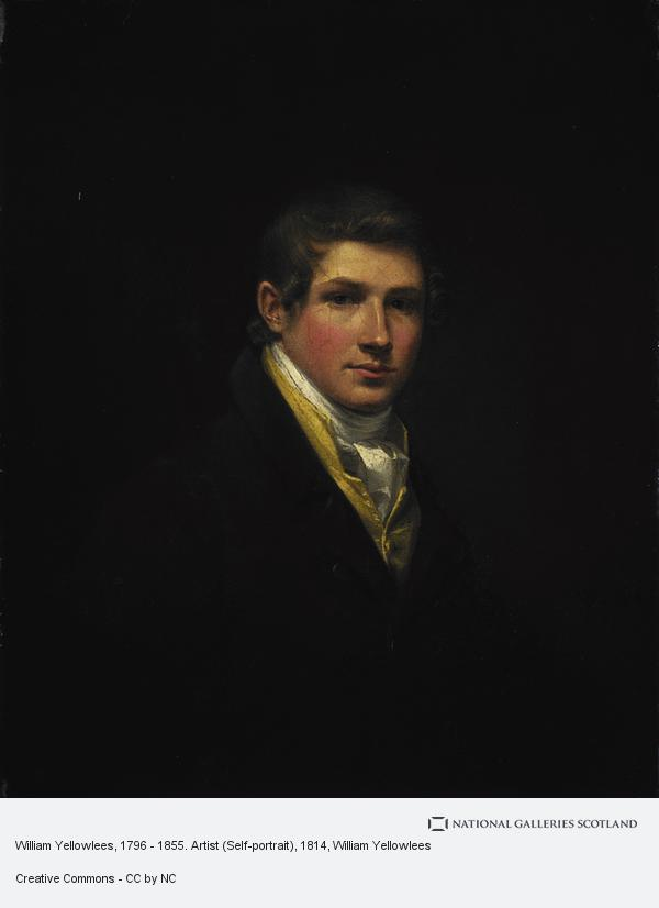 William Yellowlees, William Yellowlees, 1796 - 1855. Artist (Self-portrait)