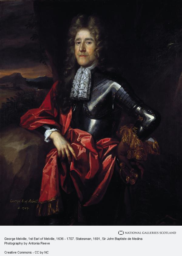 Sir John Baptiste de Medina, George Melville, 1st Earl of Melville, 1636 - 1707. Statesman
